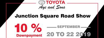 Toyota Aye and Sons Roadshow Zipevent