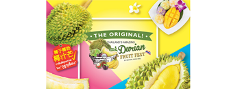 """The Original Thailand's Amazing Durian and Fruit Fest 2019"" Zipevent"