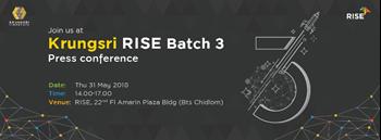 Krungsri RISE Batch 3 Press Conference Zipevent