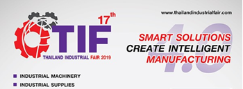 Thailand Industrial Fair 2019 Zipevent