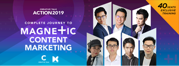 Creative Talk Action 2019 : Complete Journey to Magnetic Content Marketing Zipevent