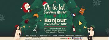 """Bonjour French Fair 2017 """"Oh La La! Christmas Market"""""""