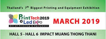 The 7th Printtech & Led Expo 2019 Zipevent