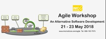 เรียนรู้การพัฒนาซอฟต์แวร์โดยใช้ Agile พร้อมปฎิบัติ 21 - 23 พ.ค. Zipevent