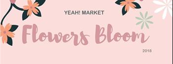 YEAH! MARKET : Flowers Bloom Zipevent