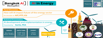 "Bangkok AI Meetup#8.5 ""AI in Energy"" Zipevent"