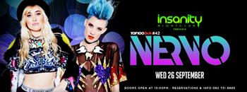 NERVO Dj Mag top 100 DJs coming in at #42  Zipevent