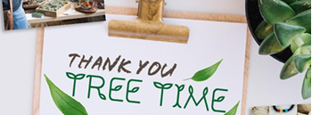 Thank You Tree Time Zipevent