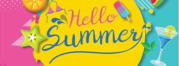 Hello Summer by NJ Market Zipevent