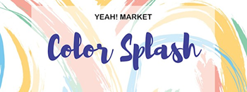 Yeah! Market : Color Splash Zipevent