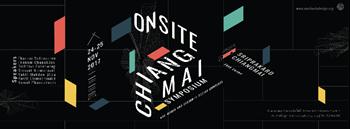 On-Site Chiang Mai Symposium: Art, Media and Designin Social Contexts