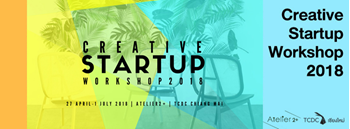 Creative Startup Workshop 2018 Zipevent
