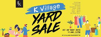 K Village Yard Sale Zipevent