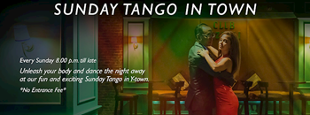 Sunday Tango in town at Rizzoli (From 08:00 pm to till late) Zipevent