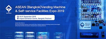 ASEAN (Bangkok) Vending Machine & Self-service Facilities Expo 2019 Zipevent