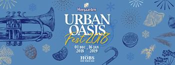 Hoegaarden l Urban Oasis Fest 2018 Zipevent