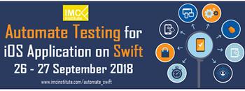 📲📲📲 หลักสูตรแนะนำ Automate Testing for iOS Application on Swift อบรมวันที่ 26 - 27 กันยายน 2018 📲📲📲 Zipevent