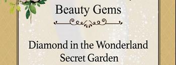 Diamond in the Wonderland Secret Garden Zipevent