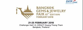 Bangkok Gems & Jewelry Fair 61st