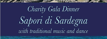 Soul of Sardinia Chaine des Rotisseur Charity Gala Dinner Zipevent