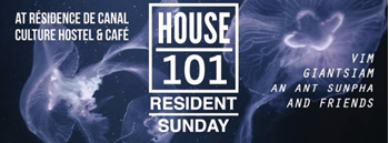 House 101 Resident Sunday : Mystery house music mansion!