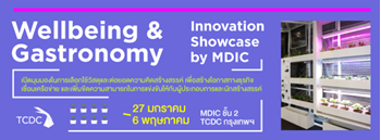 """Wellbeing & Gastronomy"" Innovation Showcase by Material & Design Innovation Center"