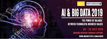 AI & Big Data 2019 : The Power of Balance between Technology & Business Values Zipevent
