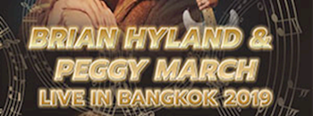 BRIAN HYLAND & PEGGY MARCH LIVE IN BANGKOK 2019 Zipevent