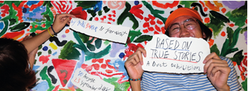 """""""Based on True Stories"""" - A Duet Exhibition by Juli Baker and Jaruwat Zipevent"""