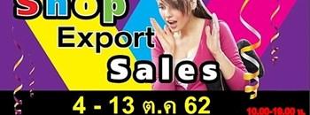 Shop Exports Sales Zipevent