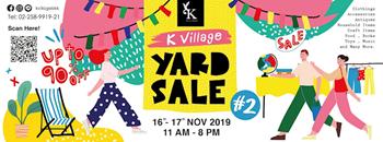 K Village Yard Sale #2 Zipevent