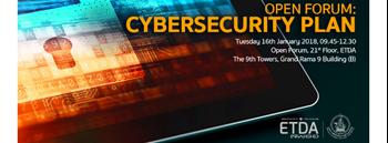 Open Forum: Cybersecurity Plan