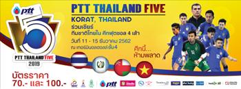 PTT Thailand Five 2019 Zipevent